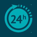24 Stunden-Rückruf-<br /> Service